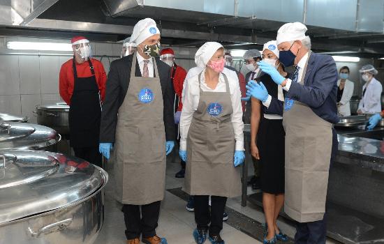 Aş ve iş için 'Şişli Sosyal Mutfak'