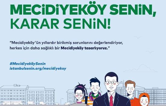 Mecidiyeköy'ün geleceğine İstanbullular karar verecek