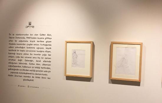 Abidin Dino'nun bilinmeyen 80 çizimi