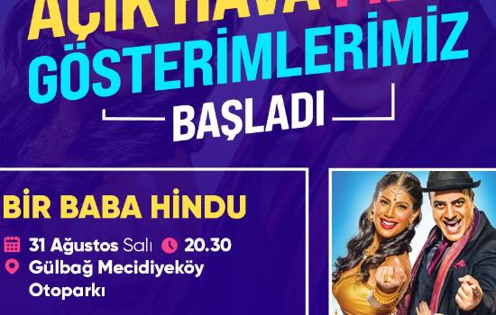 Mecidiyeköy'de 'Bir Baba Hindu' gösterimi