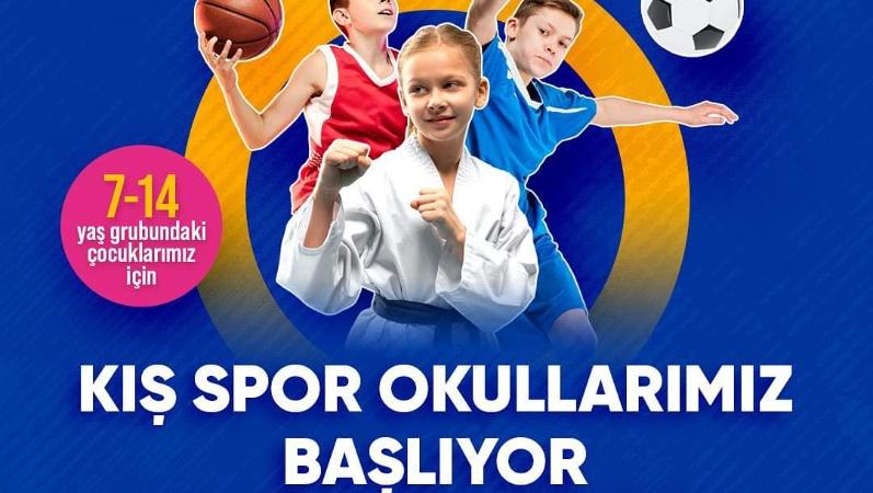 Çocuklar için hareket dolu bir yıl: Kış Spor Okulları başlıyor