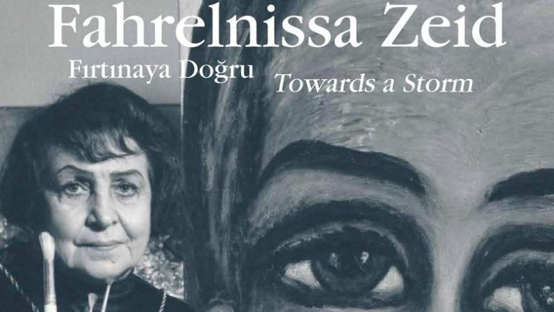 Bozlu Art Project Mongeri Binası'ndan 'Fırtınaya Doğru': Fahrelnissa Zeid